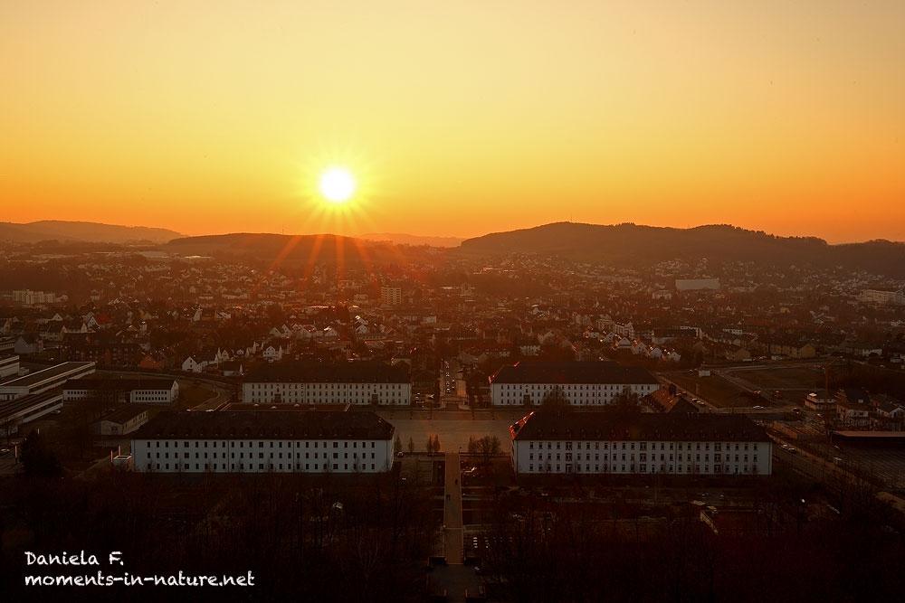 Stadt-Hemer-Sunset-Sauerlandpark-Sonnenuntergang